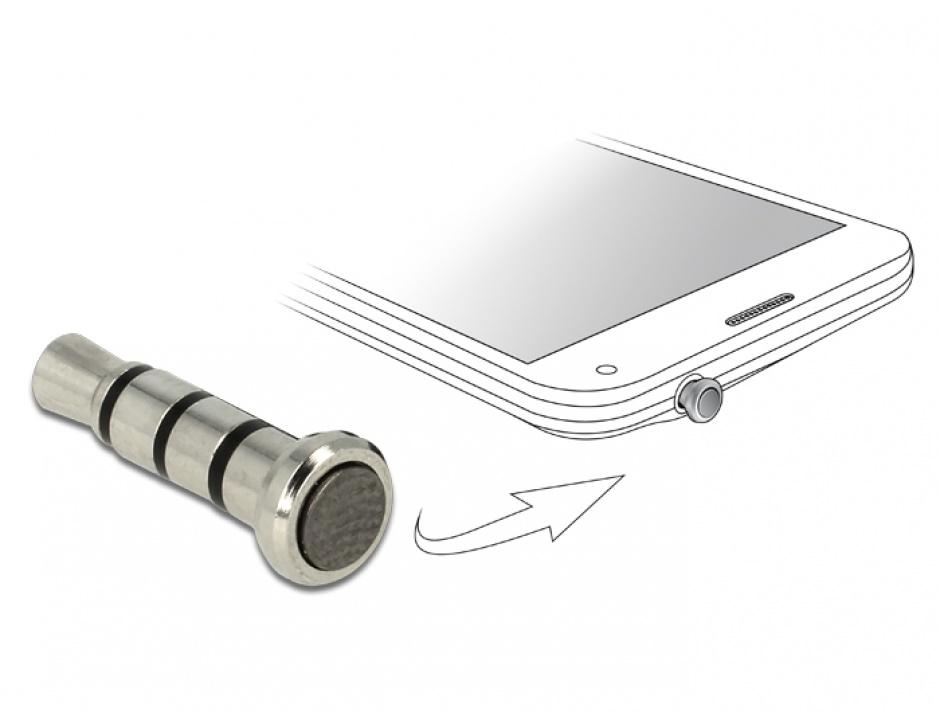 Imagine Smart Key pentru jack 3.5 mm Stereo, Delock 65591