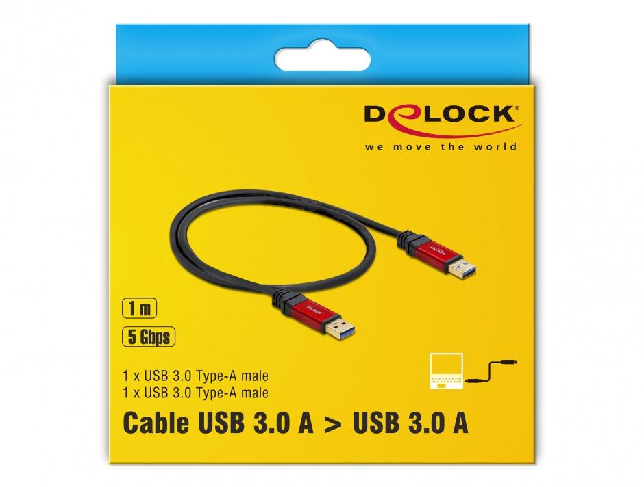 Imagine Cablu Premium USB 3.0 T-T 1m, Delock 82744