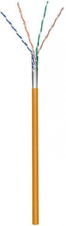 Imagine Rola cablu de retea cat.5e F/UTP CCA Portocaliu 100m, Goobay 93268