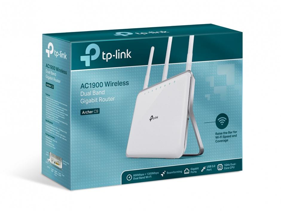 Imagine Router AC1900 Dual Band Wireless Gigabit, TP-LINK Archer C9-3