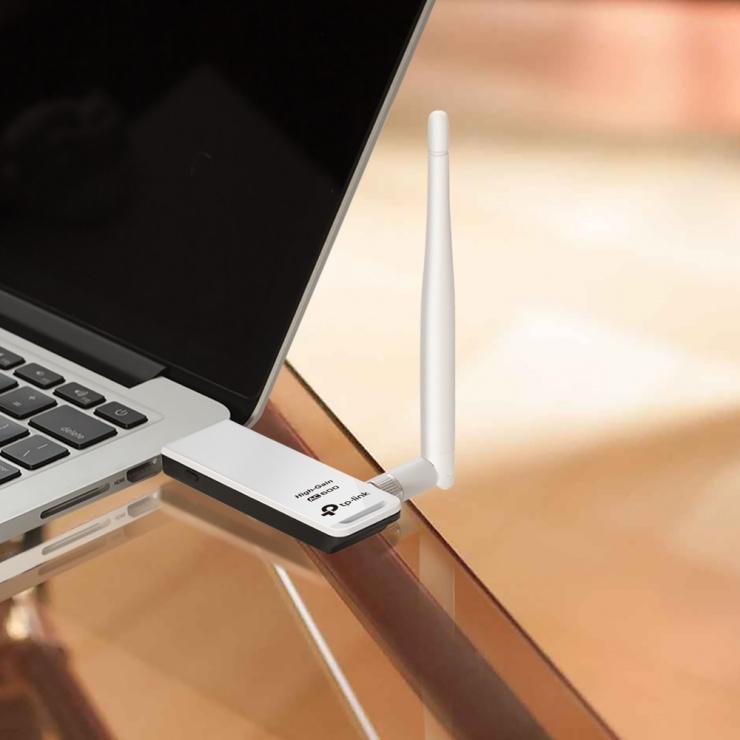 Imagine Adaptor USB wireless Dual Band AC600, TP-LINK Archer T2UH-2