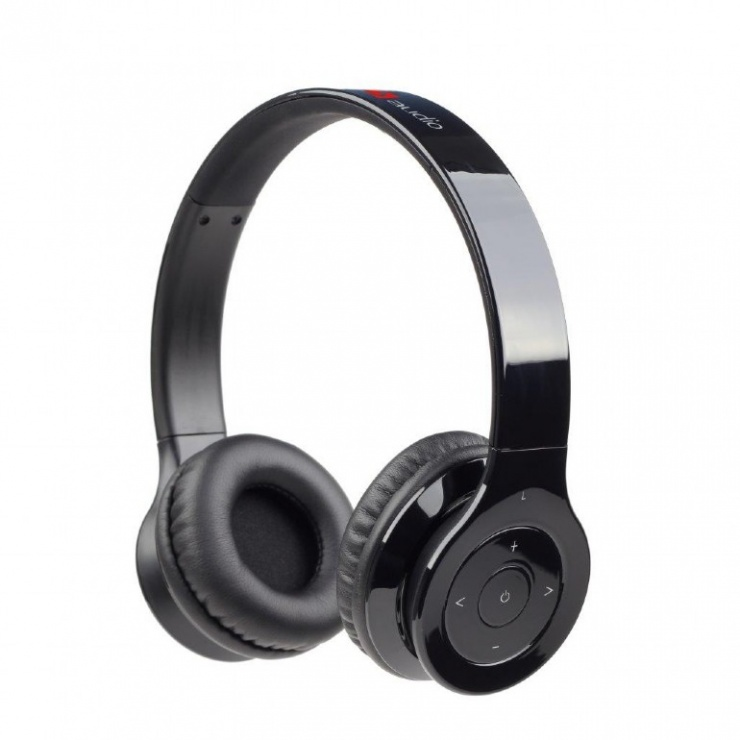 Imagine Casti Bluetooth cu microfon Berlin, Gembird BHP-BER-BK