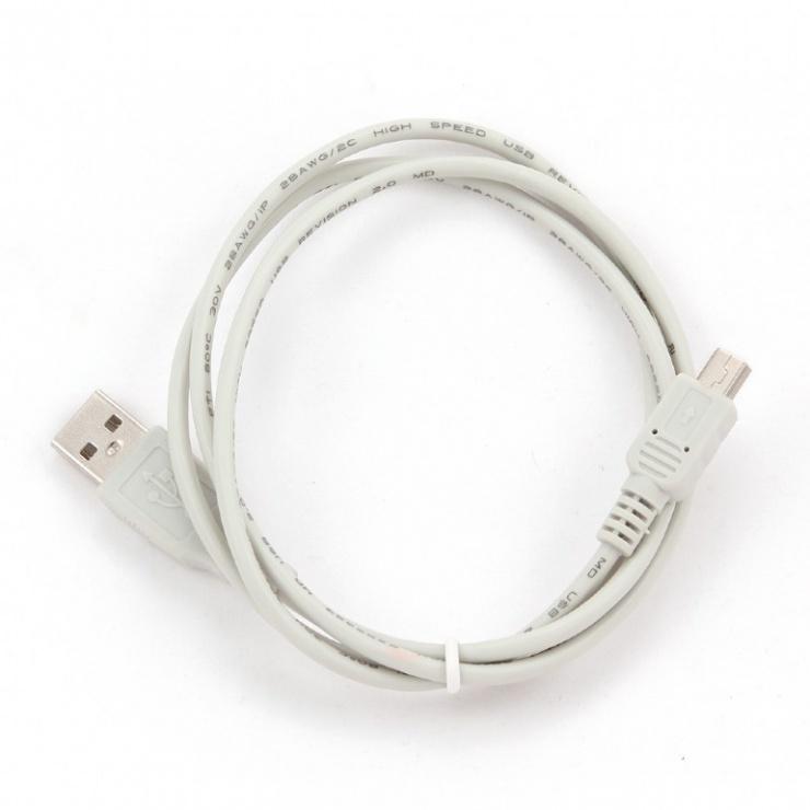 Imagine Cablu USB 2.0 la mini USB 5 pini 0.9m, CC-USB2-AM5P-3-1