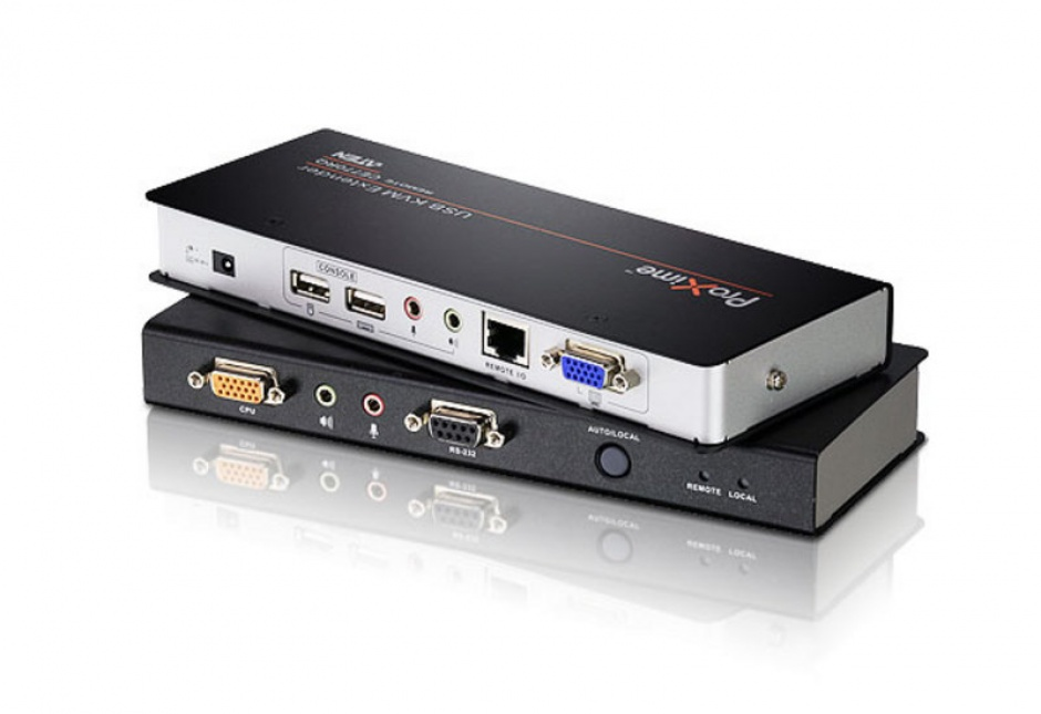 Imagine Extender KVM Cat 5 USB VGA/Audio cu Deskew 300m, ATEN CE770