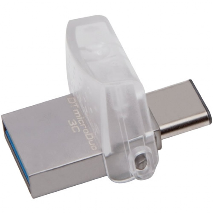 Imagine Stick USB 3.0 32GB DATA TRAVELER microDuo 3C OTG USB-A + USB-C, Kingston DTDUO3C/32GB