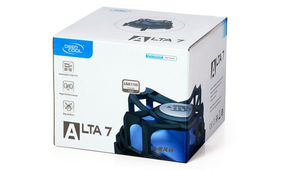 Imagine Cooler CPU skt. 1155/1156/775, DeepCool Alta 7-1