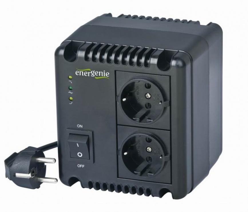 Imagine Stabilizator tensiune 500VA, Energenie EG-AVR-0501