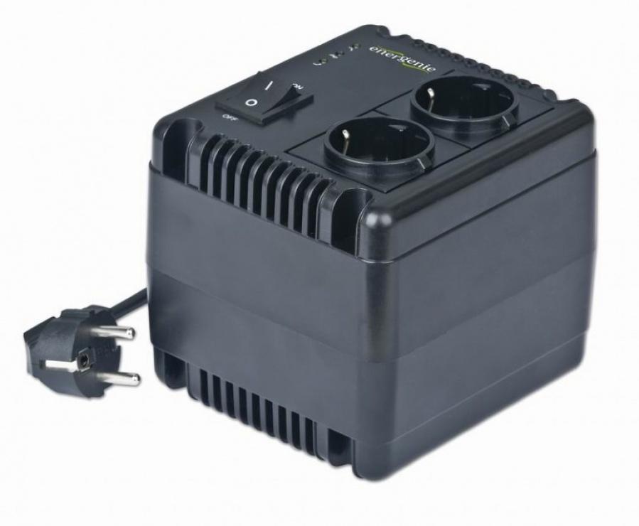 Imagine Stabilizator tensiune 800VA, Energenie EG-AVR-0801-1