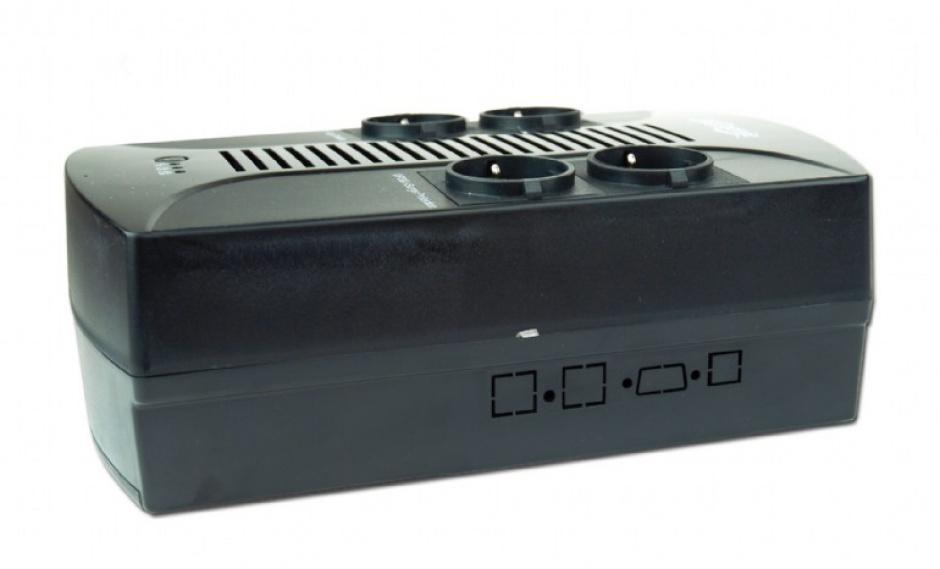 Imagine UPS 650VA line interactive de 650VA si 390W, Gembird EG-UPS-001-2