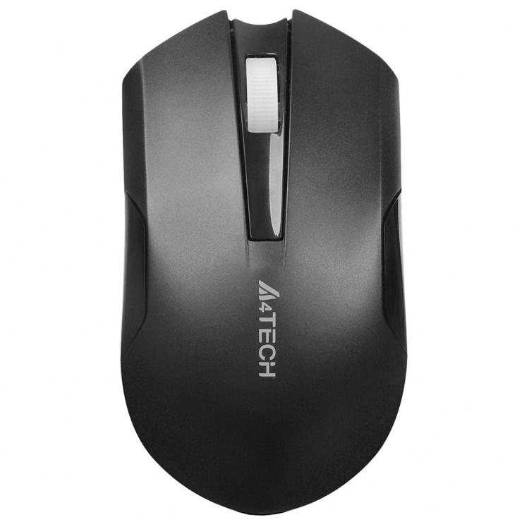 Imagine Mouse G11 Wireless V-track Padless Negru, A4Tech G11-200N