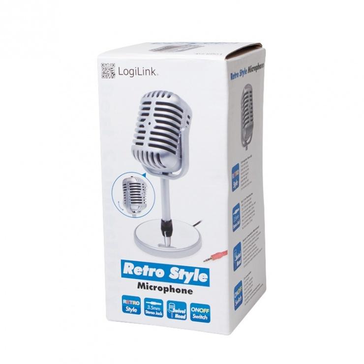 Imagine Microfon retro, Logilink HS0036
