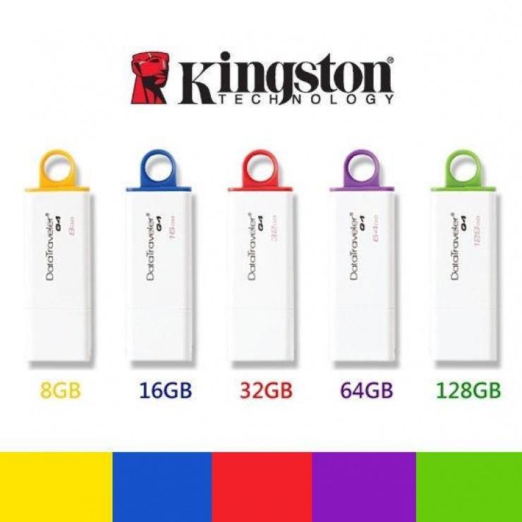 Imagine Stick USB 3.0 DataTraveler 8GB, KINGSTON DTIG4/8GB-3