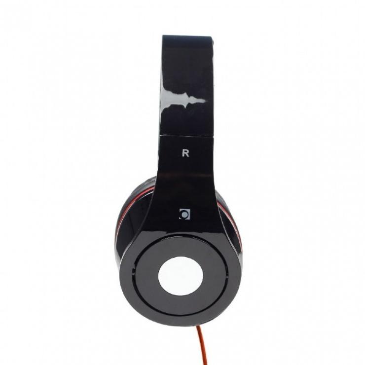 Imagine Casti stereo Detroit Black, Gembird MHS-DTW-BK-1