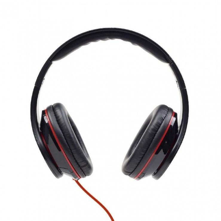 Imagine Casti stereo Detroit Black, Gembird MHS-DTW-BK-2