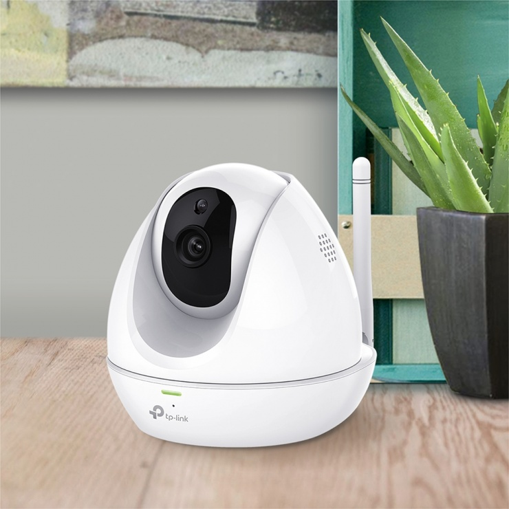 Imagine Camera Supraveghere IP wireless 300Mbps HD Pan&Tilt Day/Night Cloud, TP-LINK NC450