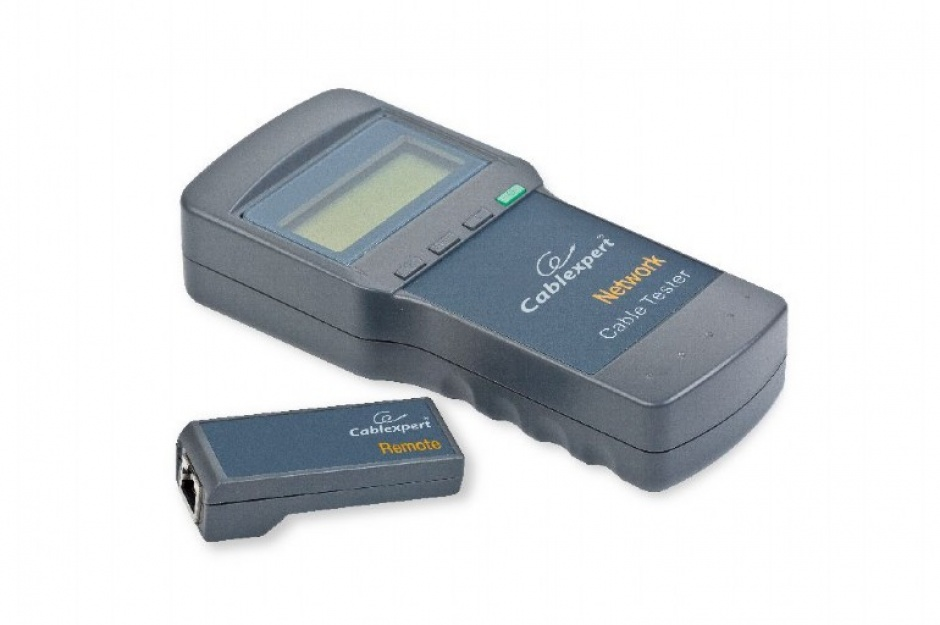 Imagine Tester retea digital, display LCD, Gembird NCT-3