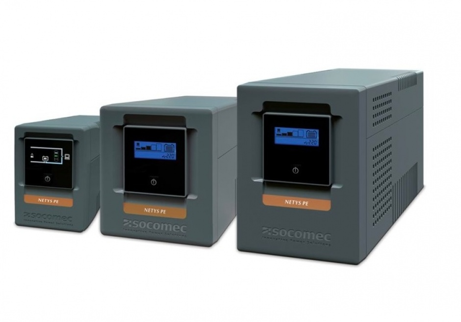 Imagine UPS SOCOMEC Netys PE-LCD 1000VA USB