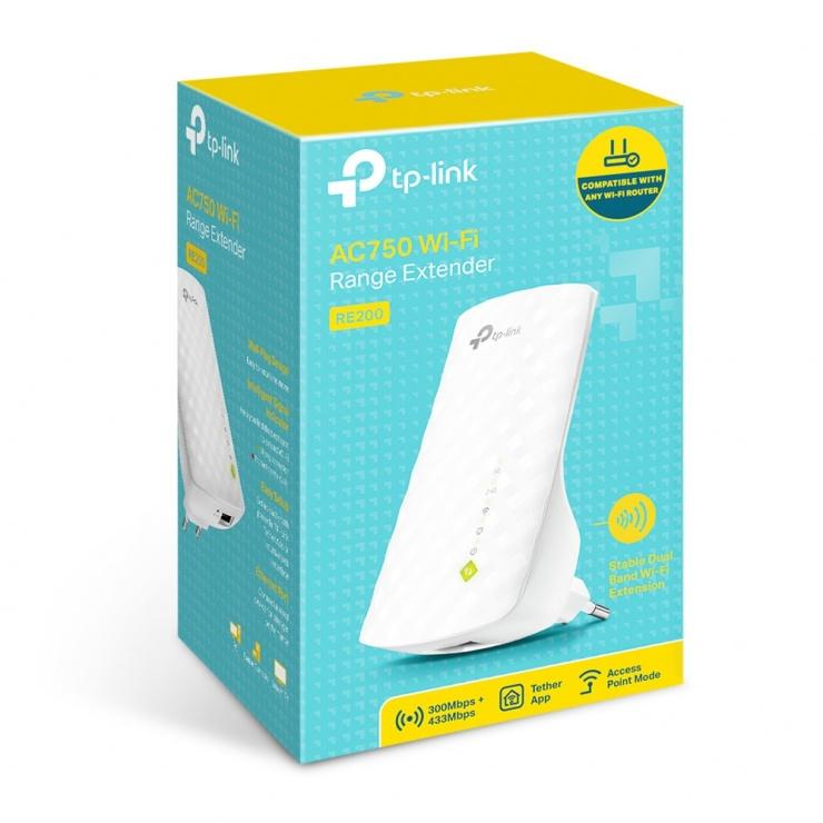 Imagine Range Extender WiFi AC750, TP-Link RE200-5