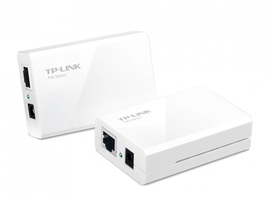 Imagine Kit adaptor Power over Ethernet (PoE), TP-LINK TL-POE200-1