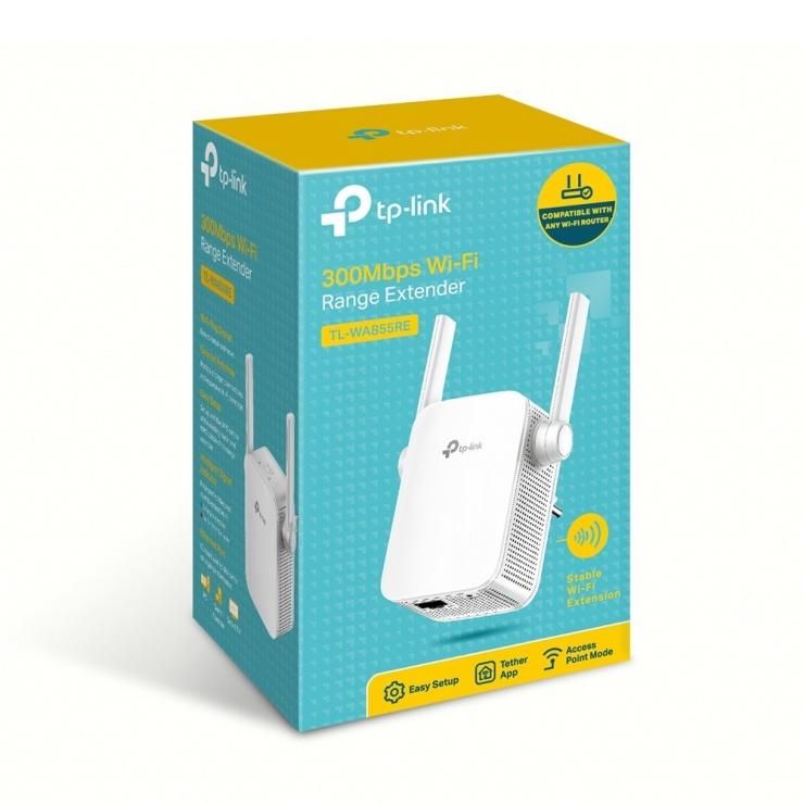 Imagine Range Extender Wi-Fi 300Mbps, TP-LINK TL-WA855RE