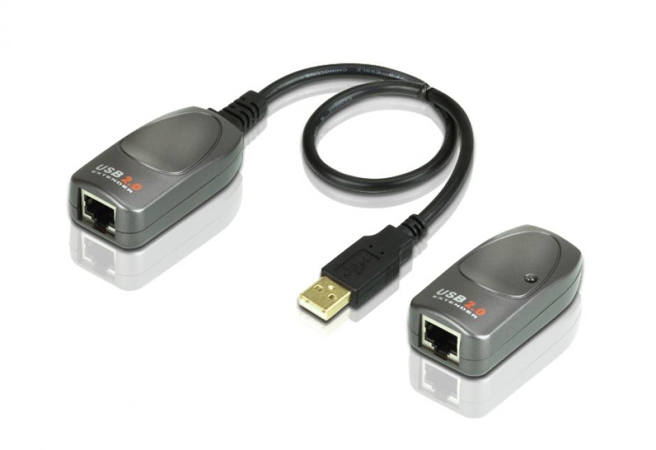 Imagine Extender USB 2.0 maxim 60m, ATEN UCE260