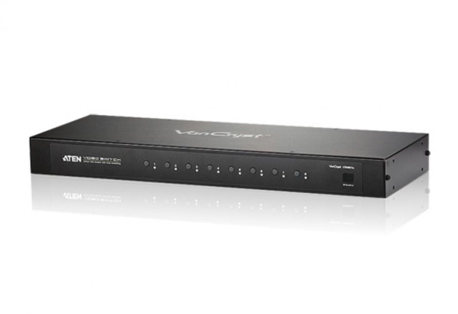 Imagine Switch VGA cu Audio 8 porturi cu telecomanda, ATEN VS0801A