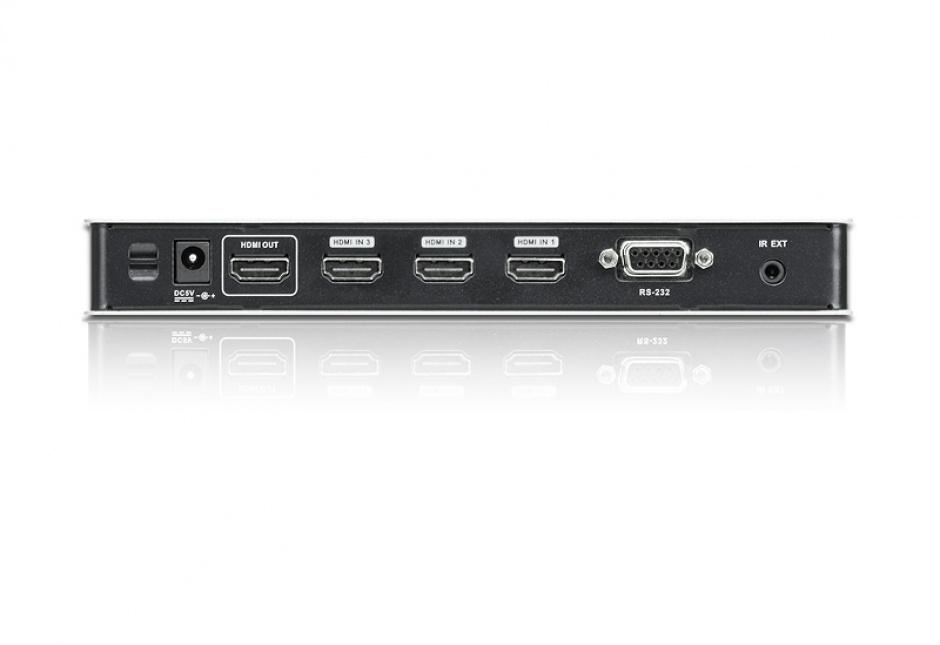 Imagine Switch HDMI 4K 4 porturi cu telecomanda, ATEN VS481B