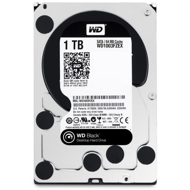Imagine Hard Disk WD 1TB 7200rpm 64MB SATA3, WD1003FZEX
