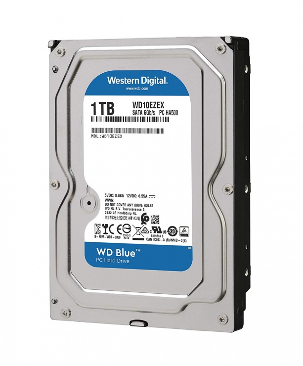 Imagine Hard Disk WD Caviar Blue 1TB 7200rpm 64MB SATA3