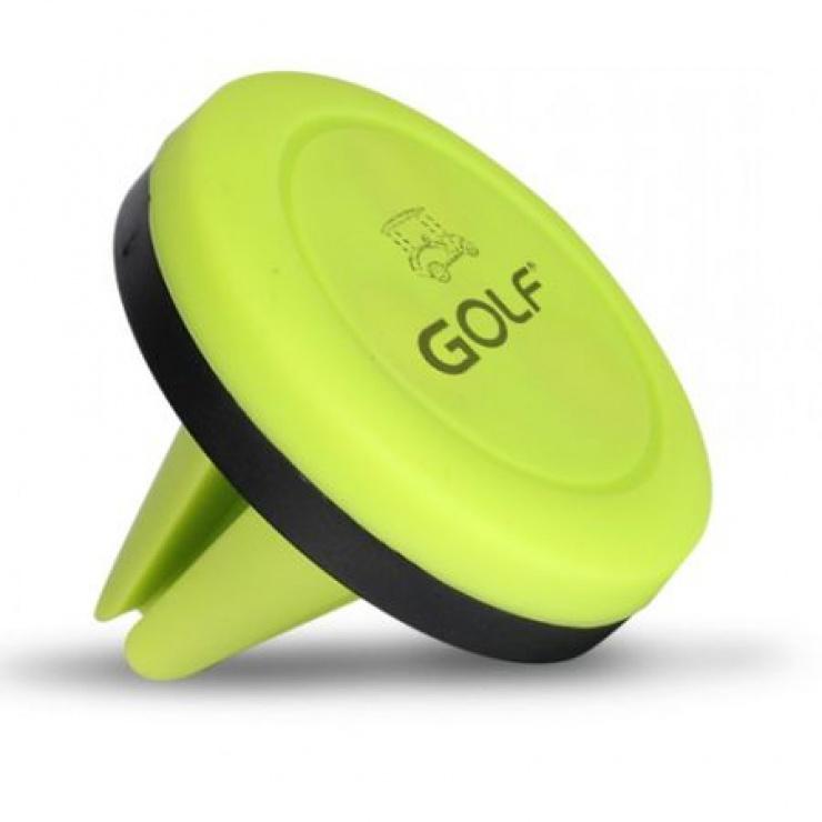 Imagine Suport magnetic auto Verde pentru smartphone, GF-CH02