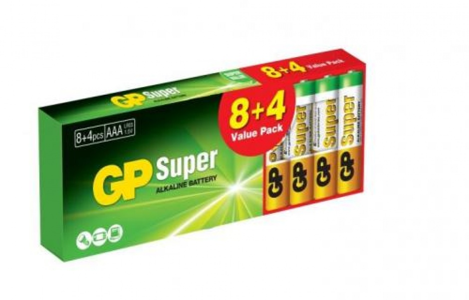 Imagine Set 12 buc baterie R3 AAA, GP Batteries