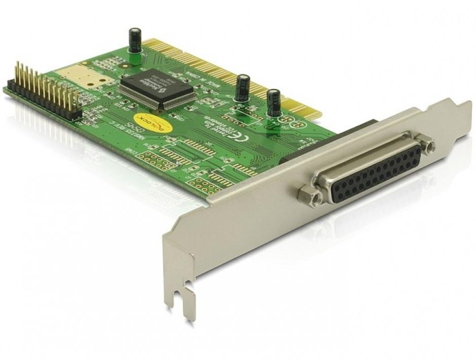 Imagine PCI la 2 porturi paralel DB25, Delock 89016-1