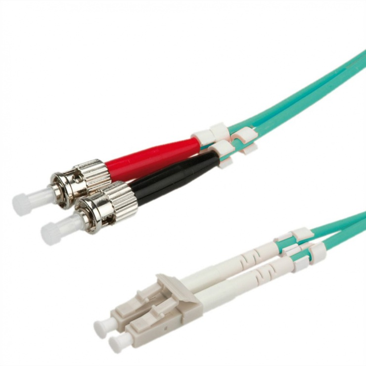 Imagine Cablu fibra optica LC-ST OM3 duplex multimode 5m, Value 21.99.8725