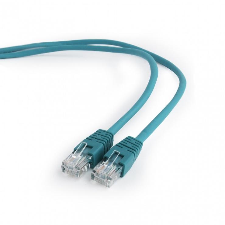 Imagine Cablu retea UTP Cat.5e 5m verde, Gembird PP12-5M/G