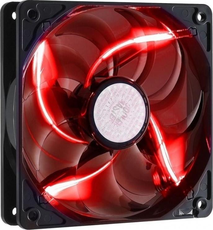 Imagine Ventilator carcasa COOLER MASTER SickleFlow 120mm Red LED