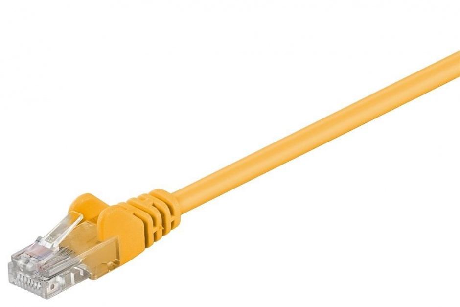 Imagine Cablu retea UTP Cat 5e 1m galben, SPUTP01Y