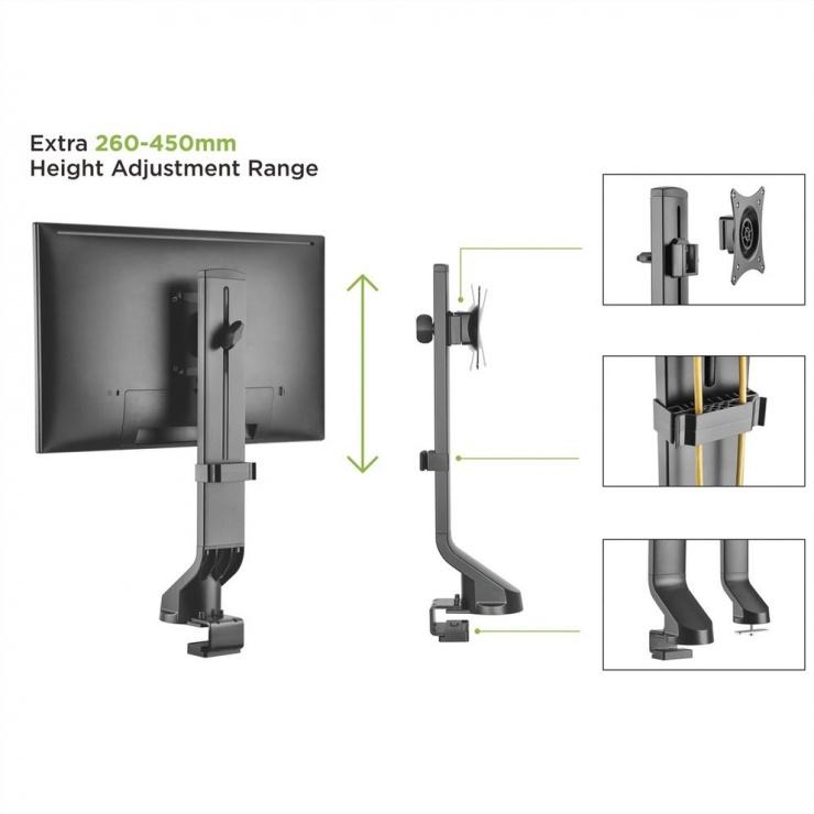 Imagine Suport monitor pentru masa, Value 17.99.1179