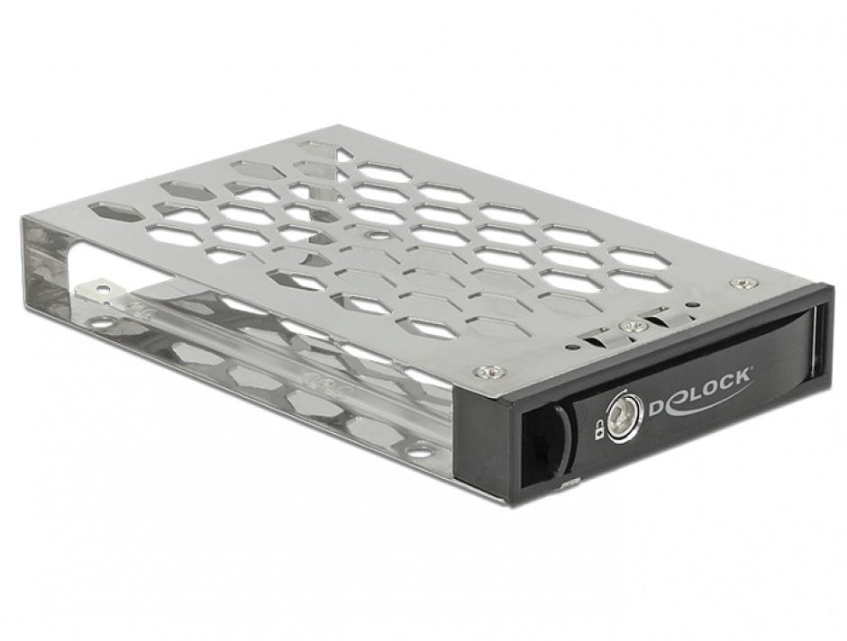 "Imagine Tavita pentru  HDD/SSD 2.5"" SATA/SAS (pentru rack mobil 47228, 47232, 47233), Delock 47229"