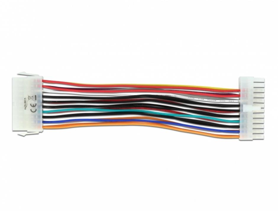 Imagine Cablu ATX 24 pini la 20 pini T-M, Delock 65603