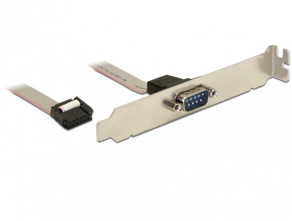 Imagine Bracket serial DB9 1 port 1:1 40cm, Delock 82768
