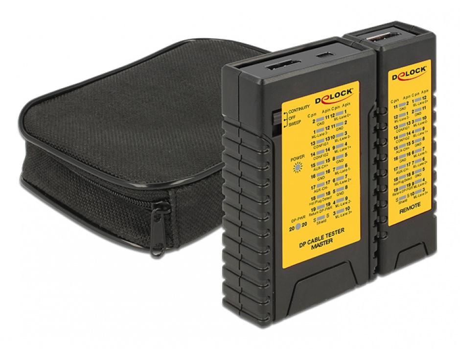 Imagine Tester cabluri Displayport, Delock 86120