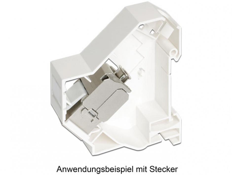 Imagine Suport de montare Keystone pentru DIN rail, Delock 86212