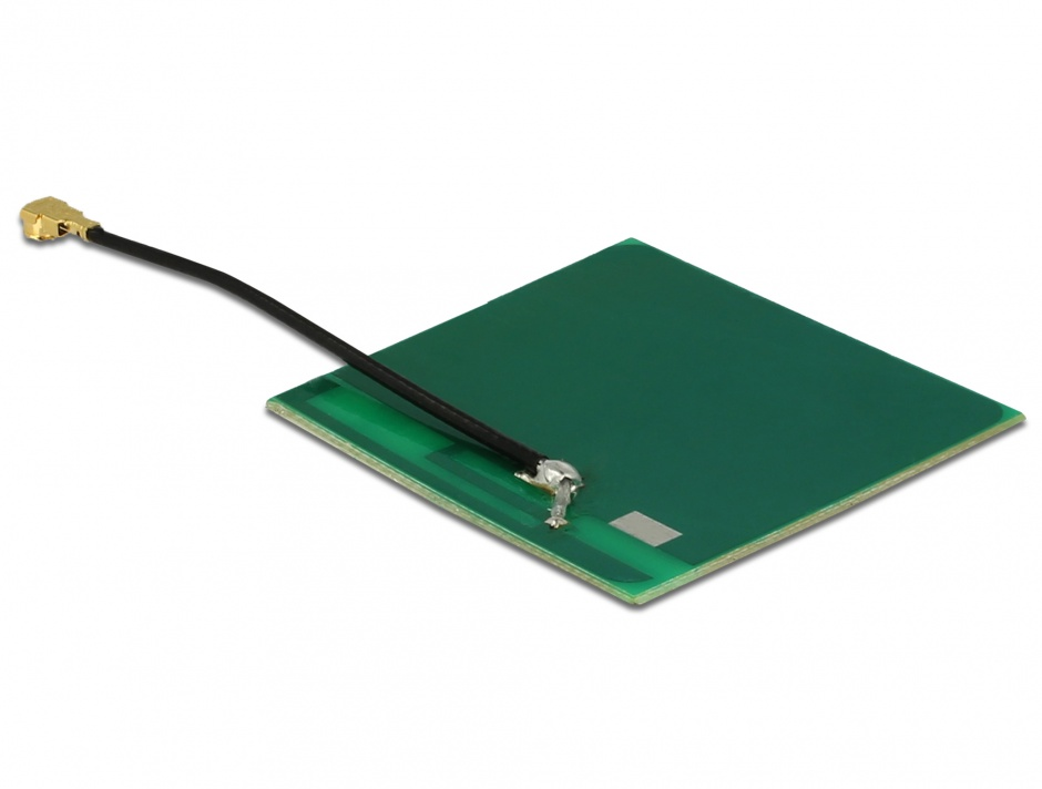 Imagine Antena WLAN MHF/U.FL-LP-068 802.11 b/g/n 2 dBi 50 mm PCB Intern Self Adhesive, Delock 86253