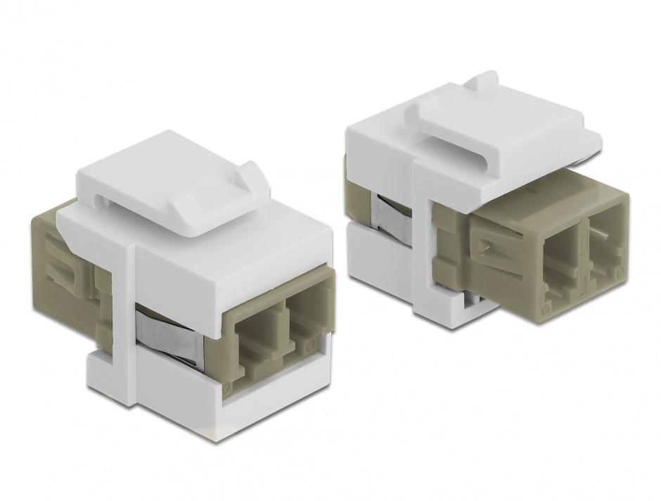 Imagine Modul Keystone LC Duplex M-M multimode, Delock 86347
