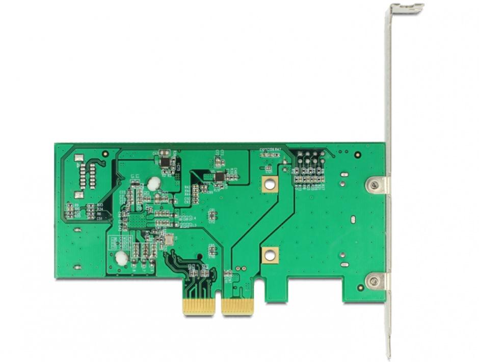 Imagine PCI Express cu 3x SATA 6 Gb/s Hybrid + 1x mSATA, Delock 89371
