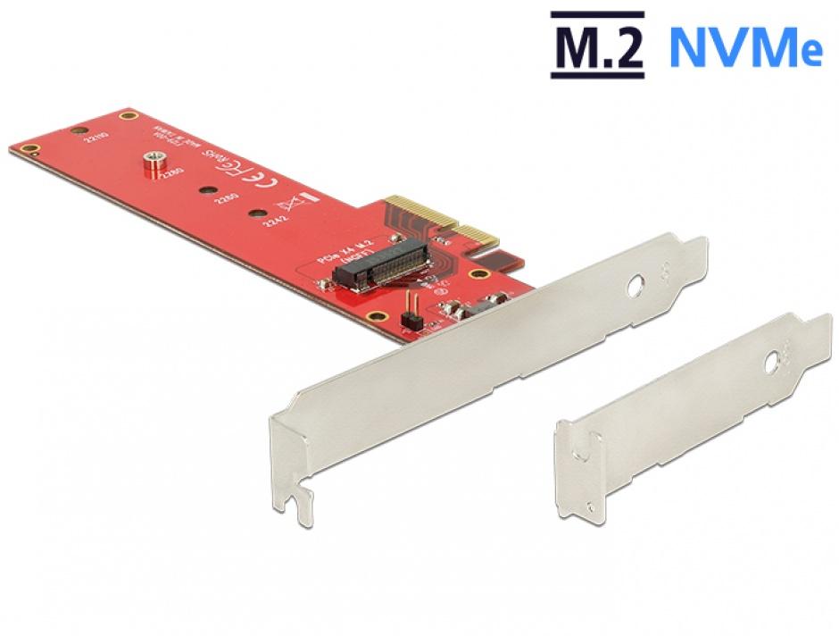 Imagine PCI Express la 1 x port internal NVMe M.2 NGFF, Delock 89455