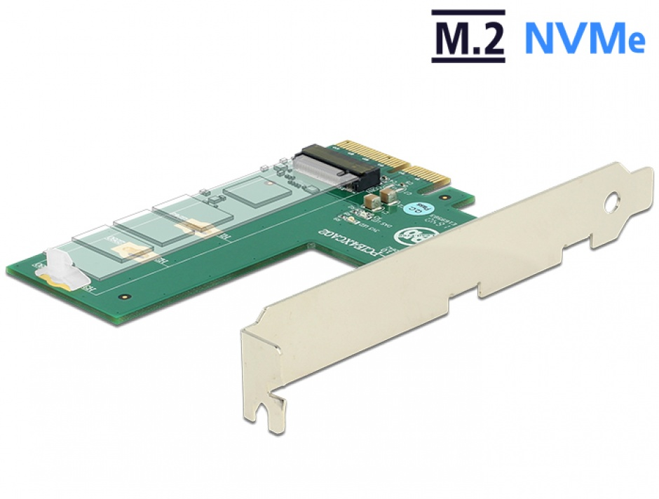 Imagine PCI Express la 1 x NVMe M.2 Key M cross format, Delock 89561