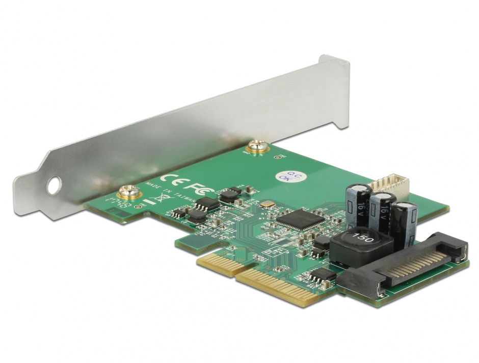 Imagine PCI Express la USB 3.1 Gen 2 key B 20 pini, Delock 89801