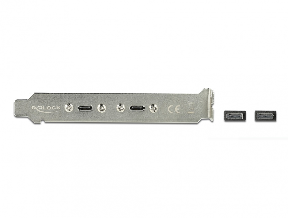 Imagine Bracket cu 2 x USB-C 20V/3A, Delock 89935