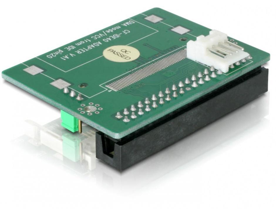 Imagine Adaptor IDE 40 pini la Compact Flash, Delock 91645